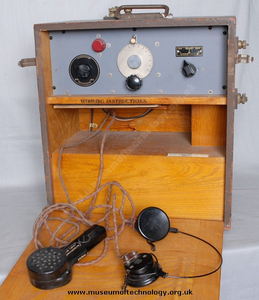 WWII WIRELESS SET No 17 MK 2, 1939