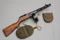 Image of WWII RUSSIAN PPSH 41 MACHINE GUN, 1942