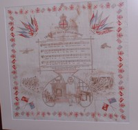 Image of WW1 SILK SCARF