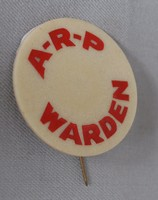 Image of WWII ARP BADGE