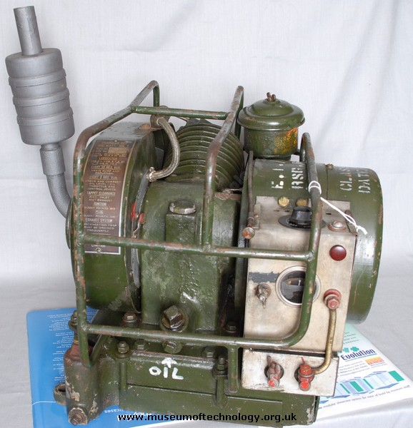 CIVIL DEFENCE CORPS GENERATOR, 1960's