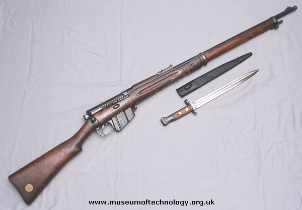 WW1 BRITISH LEE METFORD RIFLE MK 1*, 1899