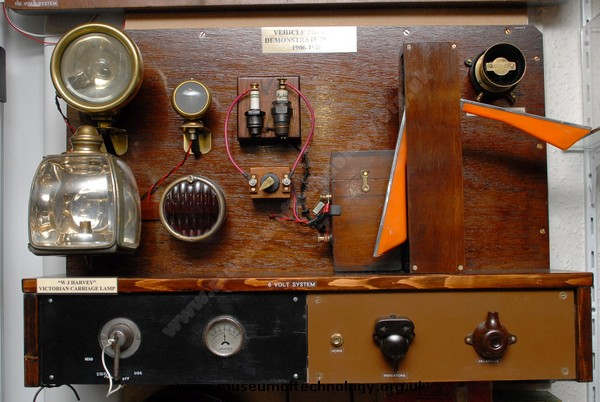 1906-1920, VEHICLE DEMONSTRATION BOARD, 1906's
