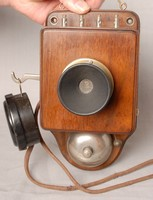 Image of INTERNAL WALL TELEPHONE, 1930's
