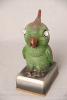 Image of NOVELTY BIRD FOB WATCH HOLDER, 1920's