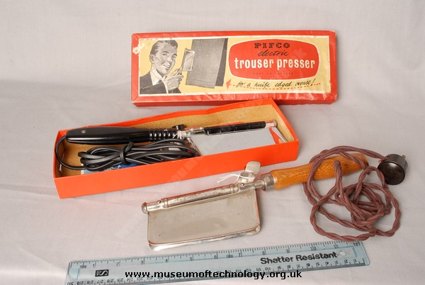 PIFCO ELECTRIC TROUSER PRESS, 1950's