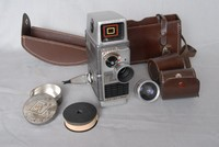 Image of BELL & HOWELL CINE CAMERA, 1950's