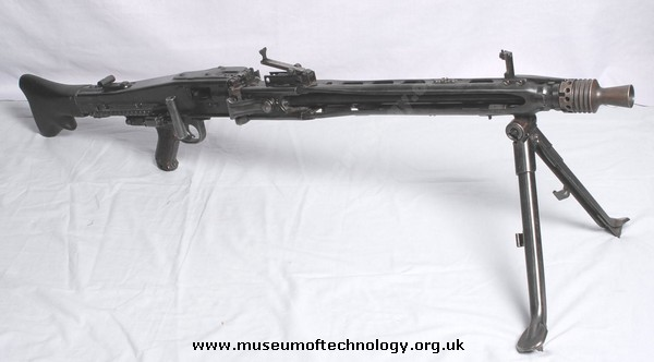 WWII MG 42 GERMAN  LIGHT MACHINE GUN, 1942