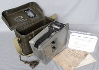 Image of EK COLE METER SURVEY RADIAC No 2 RADIATION METER, 1955