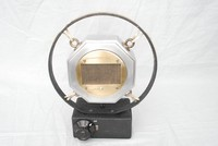 Image of CARBON PUBLIC ADDRESS MICROPHONE IN FRAME, 1930's