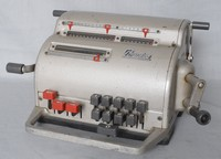 Image of PRECISA MECHANICAL CALCULATOR, 1950's