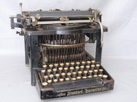 Image of REMINGTON STANDARD No 7 TYPEWRITER, 1896