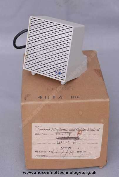 STC 4114A MOVING COIL MICROPHONE, 1960's