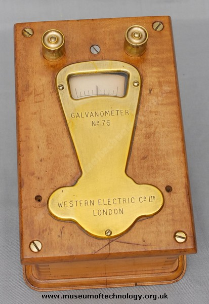 WESTERN ELECTRIC GALVANOMETER