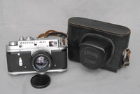 Image of ZORKI 4K 55mm CAMERA, 1950's