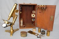 Image of R & J BECK MICROSCOPE, 1900's