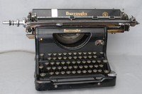 Image of BURROUGHS STANDARD ELECTRIC TYPEWRITER  of 1932