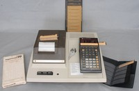Image of PROGRAMMABLE CALCULATOR TI59 AND PC-100c PRINTER, 1970's