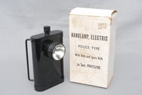 Image of POLICEMANS HAND/BELT LAMP, 1950's