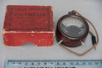 Image of POCKET FOB METER FORIEGN MADE, 1940's