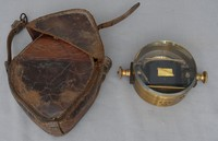 Image of G.P.O. No83 GALVANOMETER IN LEATHER CASE, 1930's