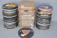 Image of 6 X 9.5mm FILMS ON 170mm REELS, 1950's