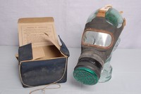 Image of WWII ADULTS GAS MASK