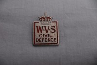 Image of WWII WVS BADGE