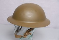 Image of WWII BRITISH BRODIE HELMET