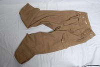 Image of WWII TYPE BATTLE DRESS TROUSERS