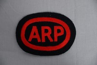 Image of WWII ARP CLOTH BADGE